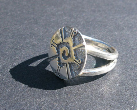 Galactic Butterfly Ring
