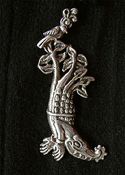 The Crocodile Tree Pendant