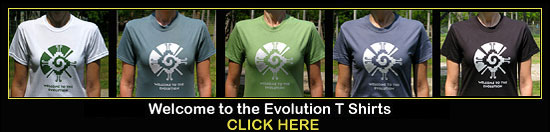Welcome to the Evolution T Shirts