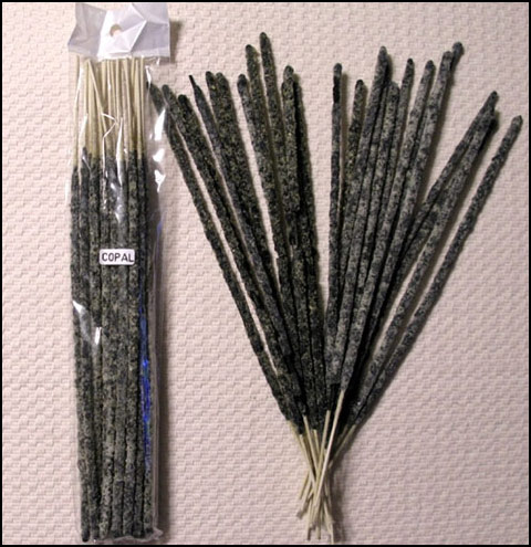 Authentic Mayan Copal Incense