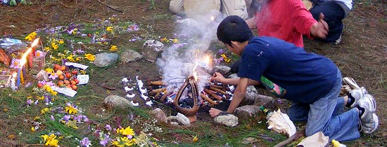 Mayan Fire Ceremony