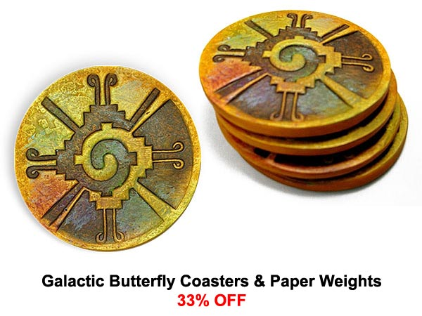 Galactic Butterfly Coasters