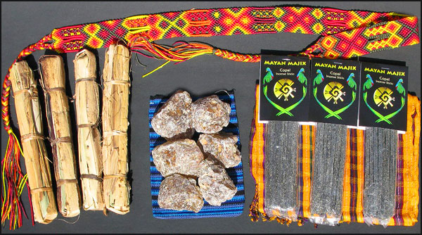 Mayan Copal Incense from Guatemala and Mexico