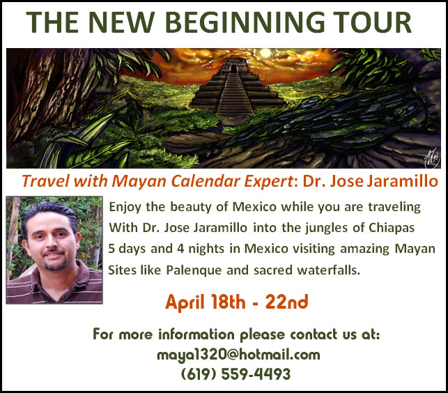 New Beginning Tour to the Mayanlands with Dr. Jose Jaramillo