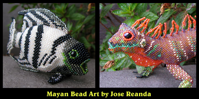 Mayan Bead Art by Jose Reanda