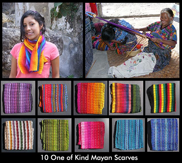 Mayan Scarves