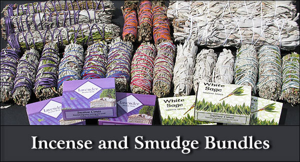 Incense and Smudge Bundles