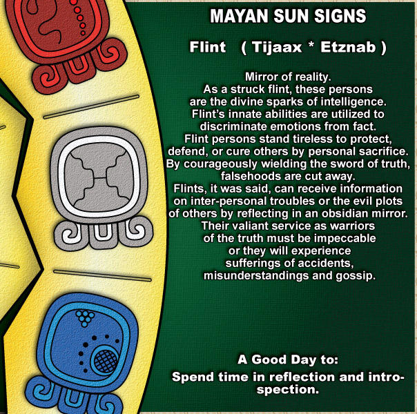 what is your mayan sun sign